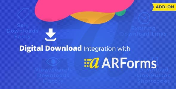 ARForms - Digital Download Add-on