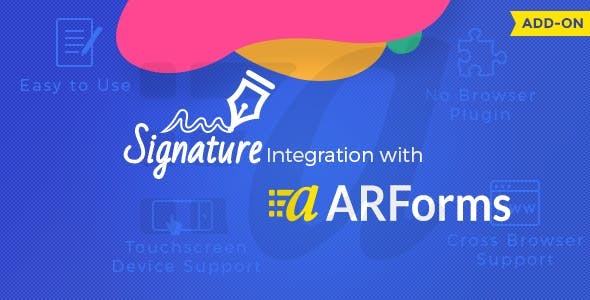 ARForms - Signature Addon