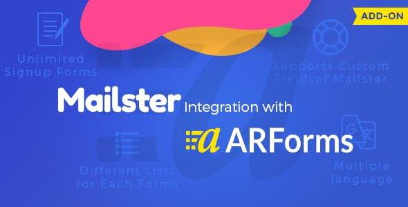 ARForms - Mailster Integration