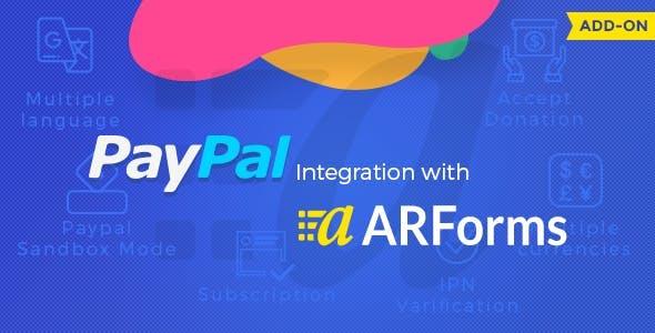 ARForms - PayPal Addon