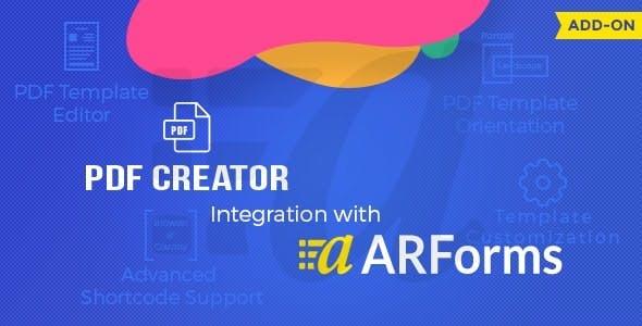 ARForms - PDF Creator Addon
