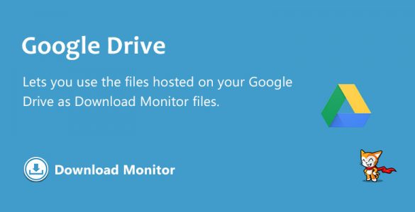 Download Monitor - Google Drive