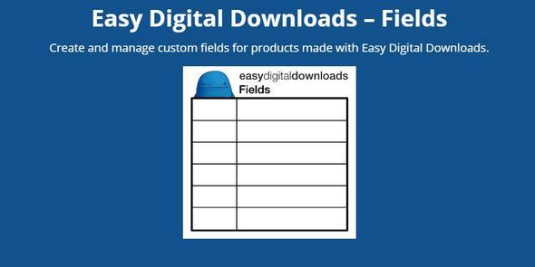 Easy Digital Downloads - Fields