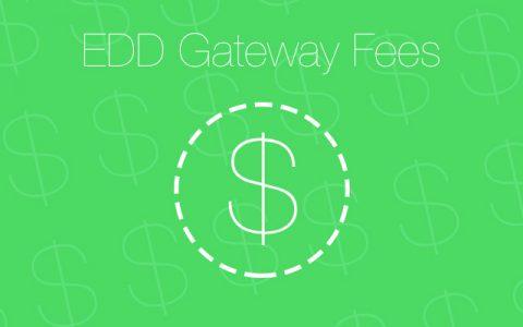 Easy Digital Downloads - Gateway Fees