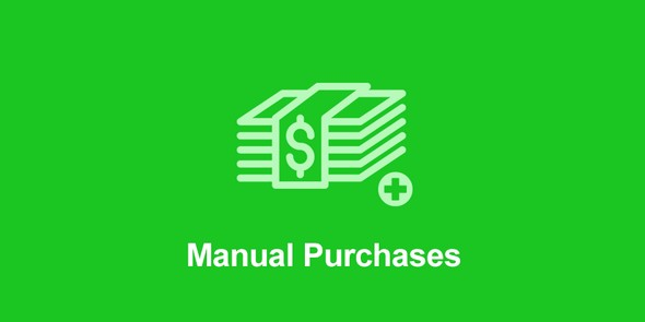 Easy Digital Downloads - Manual Purchases