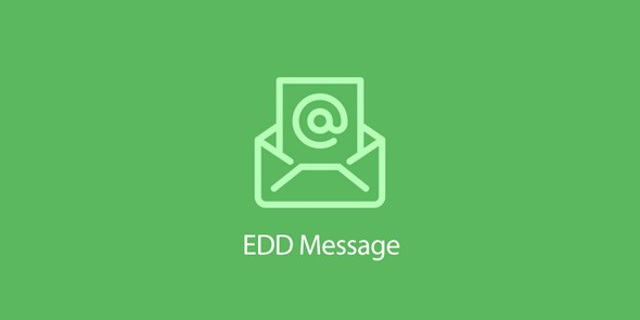 Easy Digital Downloads - Message
