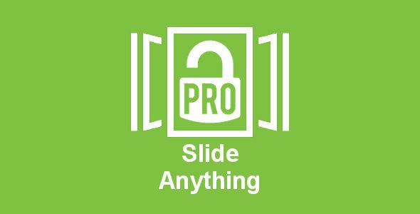 Slide Anything PRO