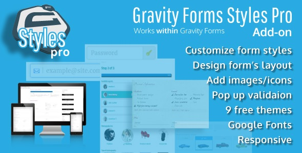 Gravity Forms Styles Pro