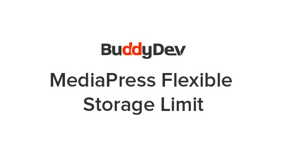 MediaPress Flexible Storage Limit