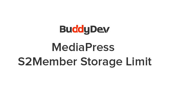 MediaPress - S2Member Storage Limit