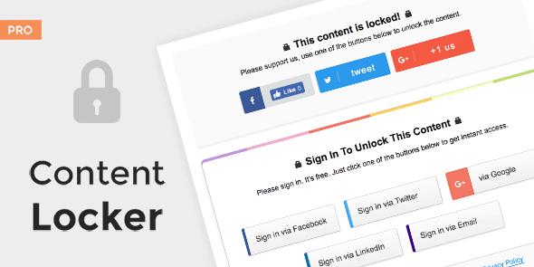 Content Locker Pro