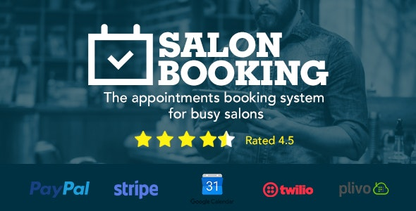 Salon Booking Pro