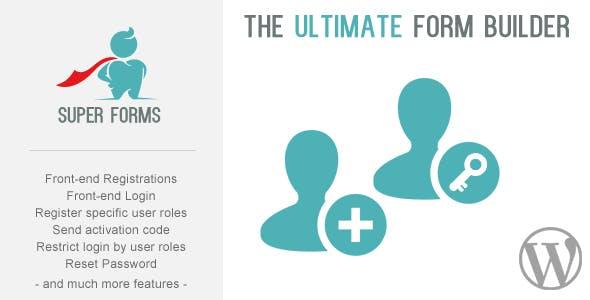 Super Forms - Front-end Register & Login Add-on