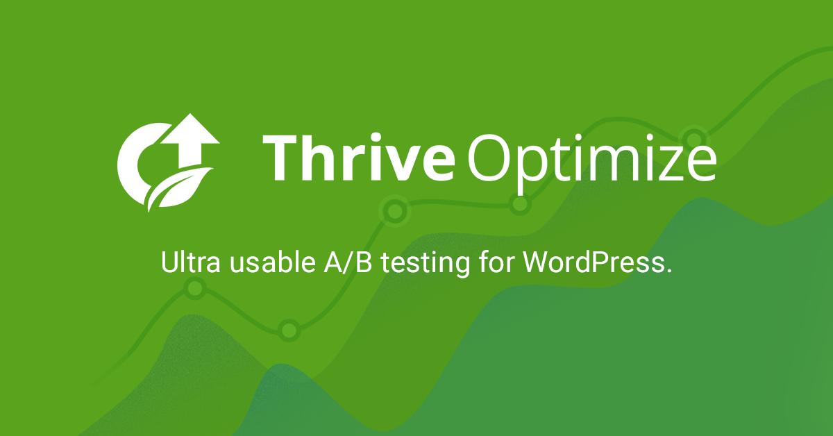 Thrive Optimize