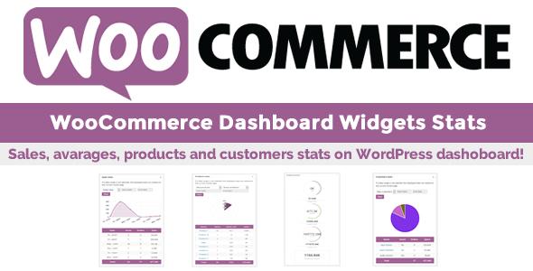 WooCommerce Dashboard Widgets Stats