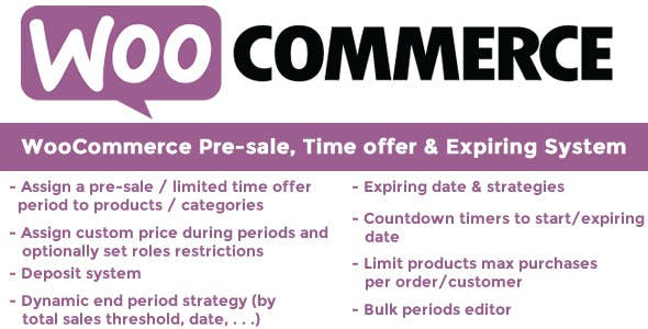 WooCommerce Pre-sale