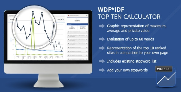 WDF IDF SEO Calculator