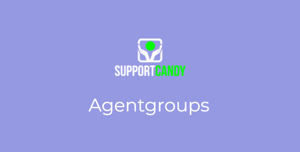 SupportCandy - Agentgroup