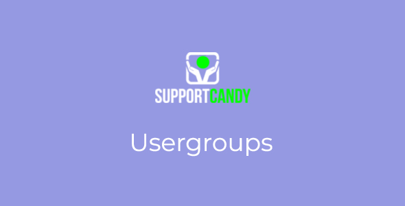 SupportCandy - Usergroup